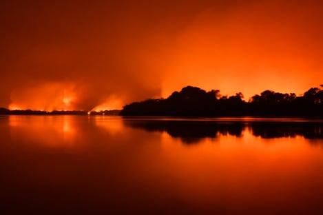 O Pantanal nunca queimou tanto