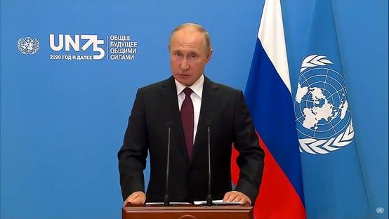 Putin anuncia vacinação em massa na próxima semana