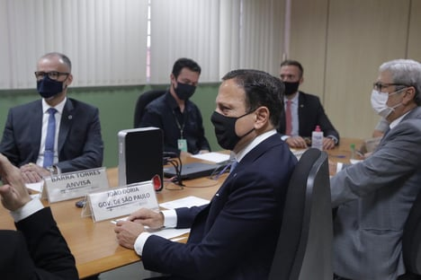Governo de SP espera que Saúde compre vacina produzida pelo Butantan