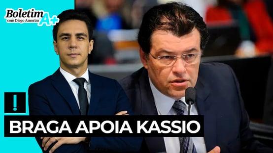 Boletim A+: Braga apoia Kassio