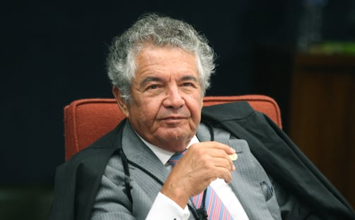 Marco Aurélio diz que Fux atuou como censor