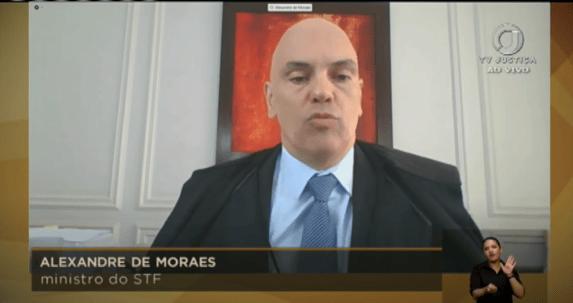 Moraes ressalta que André do Rap se associou à máfia calabresa