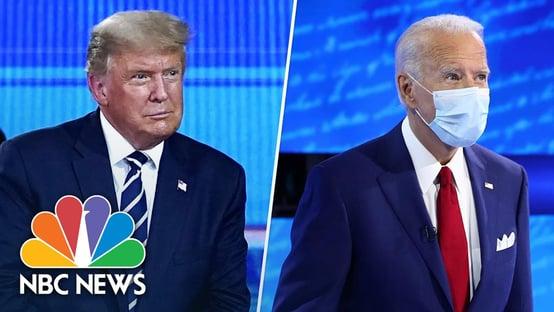 Audiência de evento com Biden é maior que a de Trump