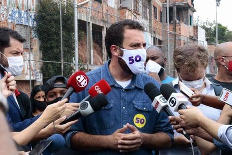 Boulos pede para Globo manter debate de forma virtual