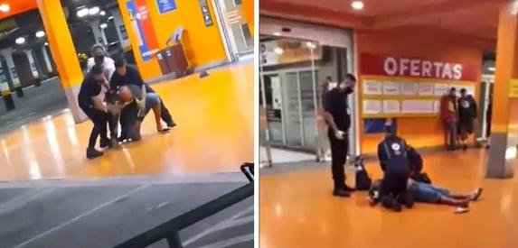 João Alberto foi espancado durante 5 minutos, diz polícia