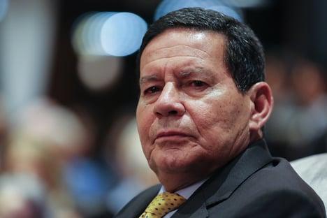 """Mourão diz ser favorável à prisão em 2ª instância: """"Mas não sou articulador político"""""""