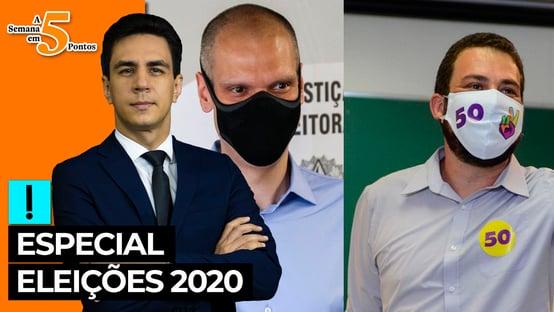A Semana em 5 Pontos especial eleições 2020