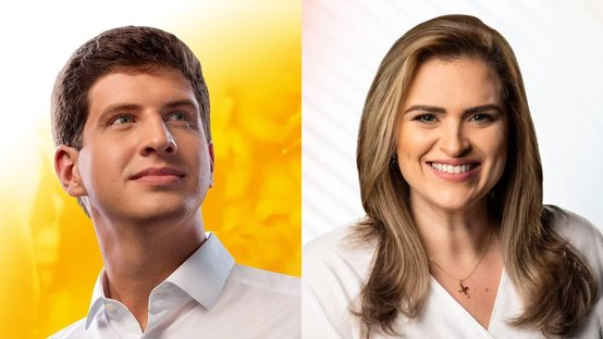 Datafolha no Recife: Marília Arraes 43%, João Campos 40%