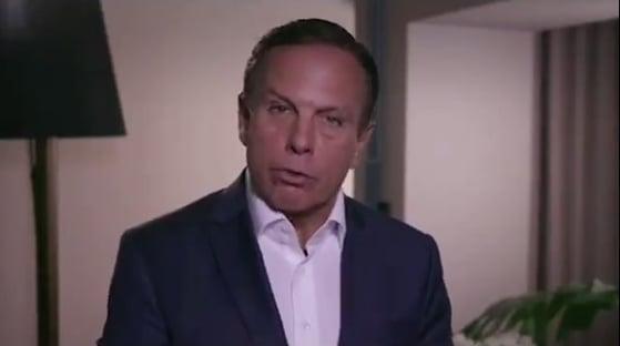 Há duas semanas, Doria disse que endurecimento de medidas contra Covid era fake news