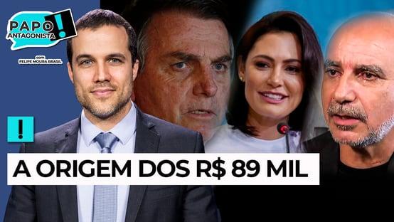AO VIVO: De Queiroz para Michelle Bolsonaro – Papo Antagonista com Crusoé e Paulo Cruz