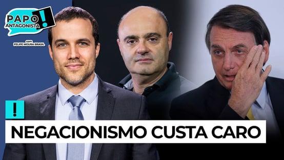 AO VIVO: BOLSONARO TERCEIRIZA A CULPA – Papo Antagonista com Mario Sabino