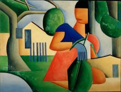 Leiloada por R$ 57,5 milhões, tela de Tarsila do Amaral é a mais cara do Brasil