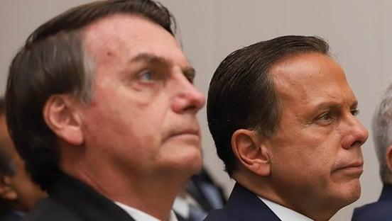 "Doria: ""Bolsonaro brinca de ser Presidente"""