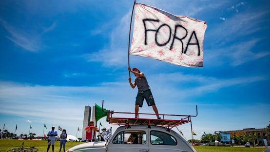Esquerda nas ruas contra Bolsonaro