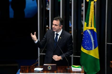 URGENTE: RODRIGO PACHECO É O NOVO PRESIDENTE DO SENADO