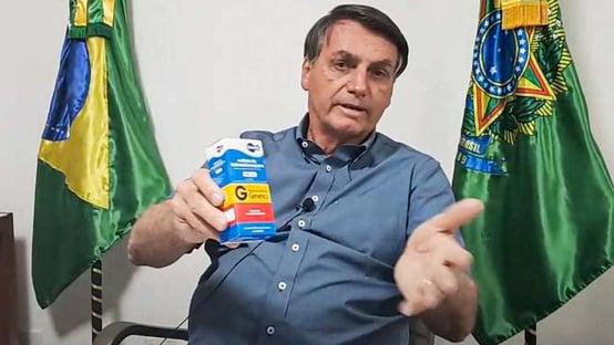 Bolsonaro é o maior influenciador digital da cloroquina no mundo