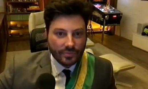 Danilo Gentili é diagnosticado com Covid