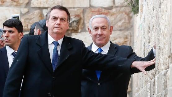 Bolsonaro diz que lançamento de foguetes contra Israel é absolutamente injustificável