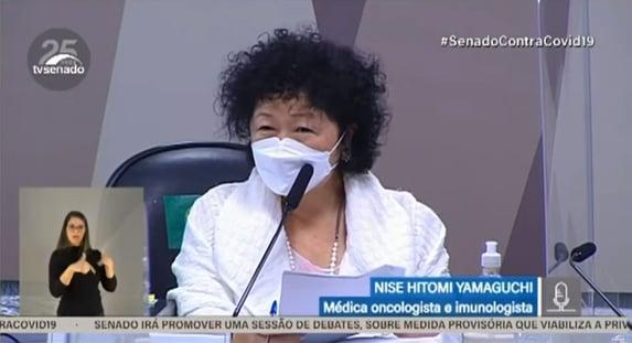 """Nise Yamaguchi confirma participação em """"comitê de crise institucional"""""""
