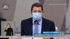 Marcellus Campêlo contradiz Pazuello e diz que pediu apoio do Ministério da Saúde em 7 de janeiro