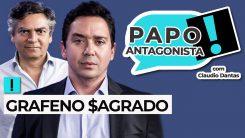 AO VIVO: Grafeno Sagrado - Papo Antagonista com Claudio Dantas e Diogo Mainardi