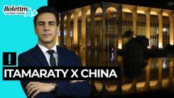 Boletim A+: Itamaraty x China