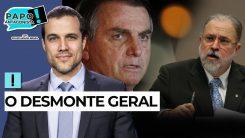 AO VIVO: PGR bolsonarista salva até tucanos - Papo Antagonista com Crusoé e Arthur do Val
