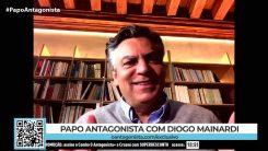 """""""Boulos é a Erundina de barba aparada"""", diz Diogo Mainardi"""
