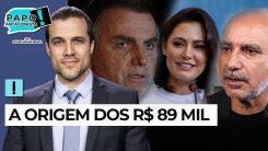 AO VIVO: De Queiroz para Michelle Bolsonaro - Papo Antagonista com Crusoé e Paulo Cruz