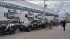 PF escolta chegada da vacina no Rio