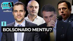 Doria critica parasitismo de Bolsonaro