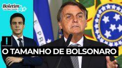 Boletim A+: o tamanho de Bolsonaro