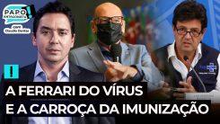 Dimas Covas: dados preliminares indicam que Coronavac é eficaz contra variantes