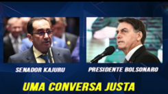 Em áudio, Bolsonaro diz a Kajuru temer relatório 'sacana' de CPI da Covid