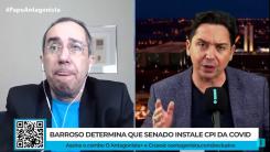 """""""Palácio está temendo a CPI da Covid"""", diz senador Jorge Kajuru"""