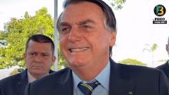 'Eu não tirei emprego de uma pessoa no Brasil', diz Bolsonaro