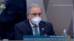Queiroga defende vacina, testagem em massa, máscara e isolamento social