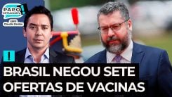 Brasil negou sete ofertas de vacina