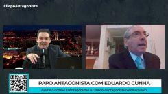 No Papo Antagonista, Eduardo Cunha criticou Moro, defendeu Bolsonaro e disse que Bolsolão