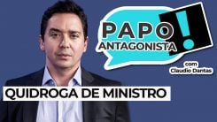 AO VIVO: Quidroga de ministro - Papo Antagonista com Claudio Dantas
