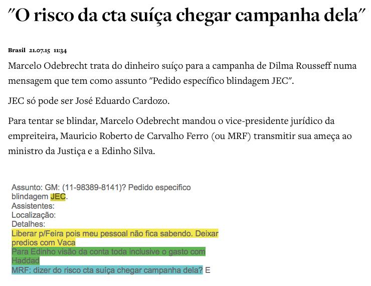 Aécio Neves pediu doação ilegal para Odebrecht em campanha eleitoral — Brasil