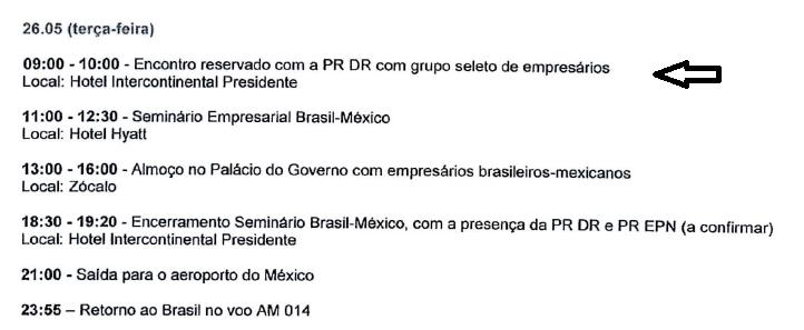 Agenda de Marcelo Odebrecht contraria Dilma 'trambique', a vigarista 'honrada'