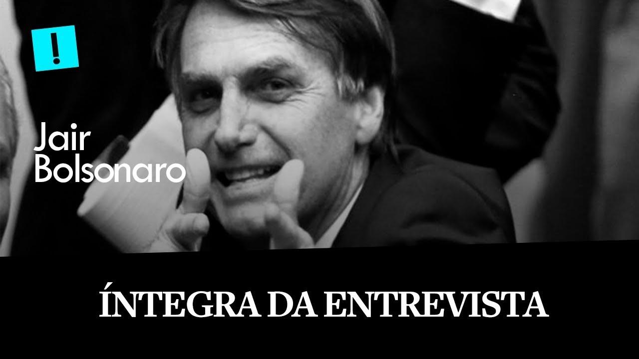 BOLSONARO EXCLUSIVO: A ÍNTEGRA DA ENTREVISTA