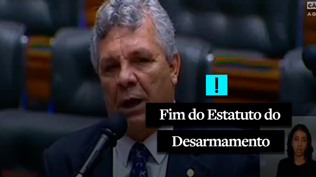 Deputado cobra da Câmara o fim do Estatuto do Desarmamento