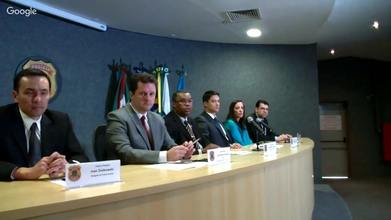 Ao vivo: Lava Jato explica Operação Sothis