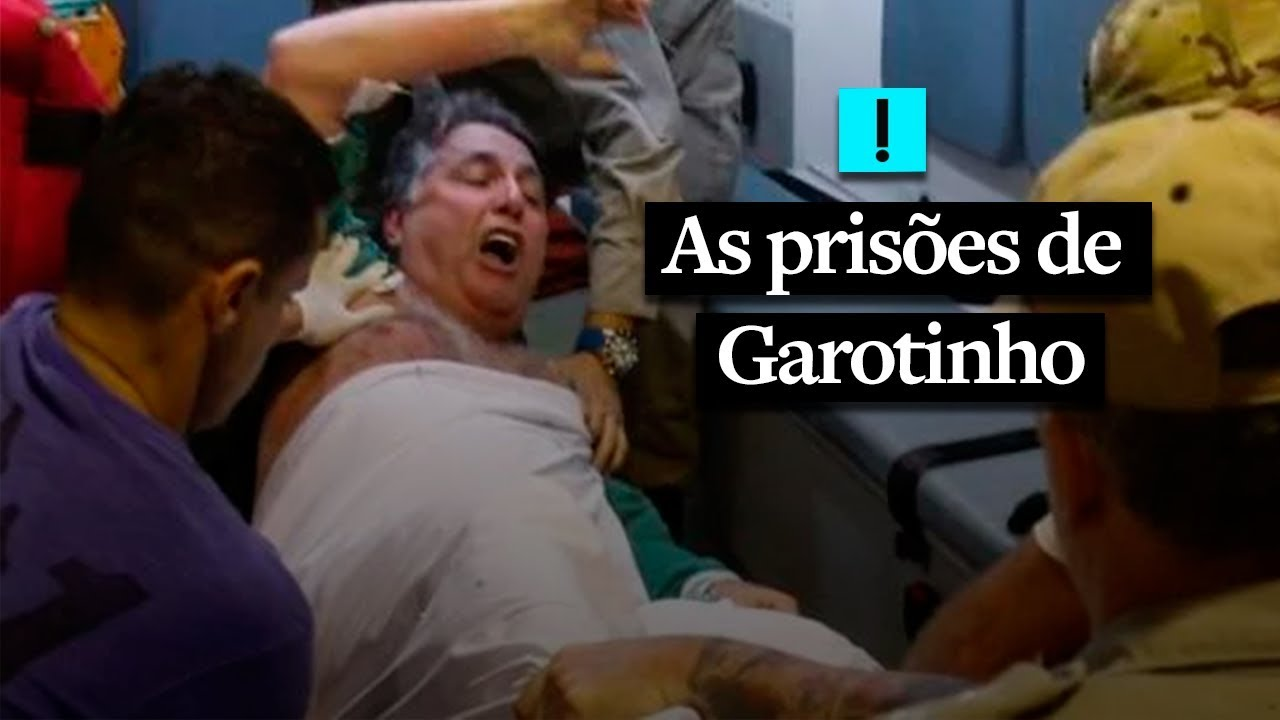 Relembre as prisões de Garotinho