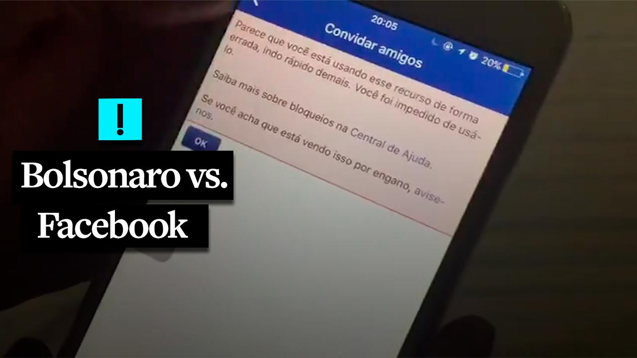 Bolsonaro e o problema com o Facebook