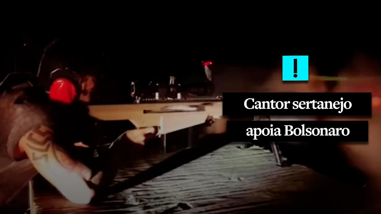 Cantor sertanejo declara apoio a Bolsonaro