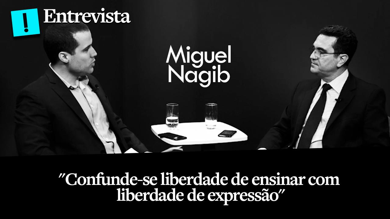 """""""Confunde-se liberdade de ensinar com liberdade de expressão"""", diz fundador do Escola Sem Partido a O Antagonista"""