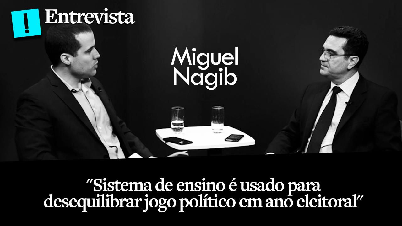 """""""Ensino é usado para desequilibrar jogo político"""", diz fundador do Escola Sem Partido"""